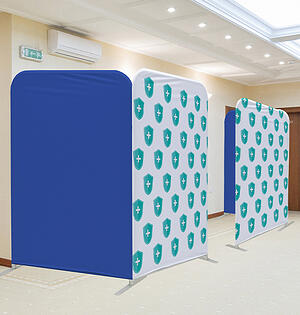 Fabric partitions